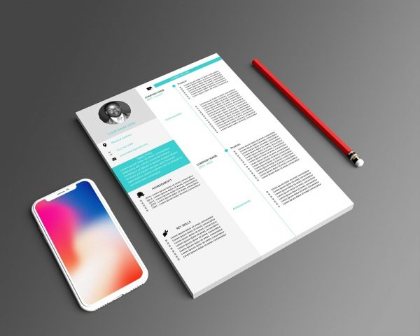 professional cv template south africa